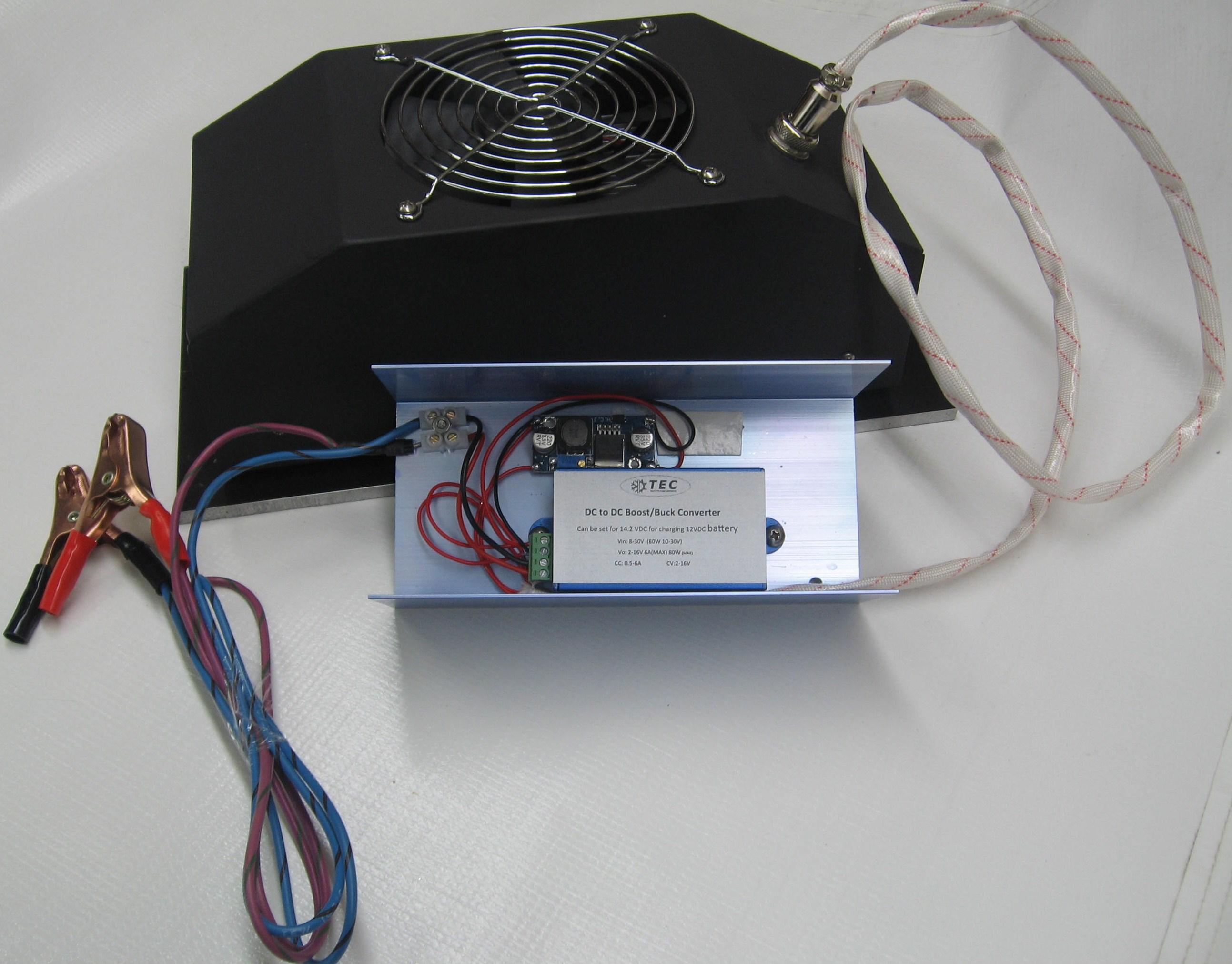Teg12vdc 24 30w Air Thermoelectric Generator